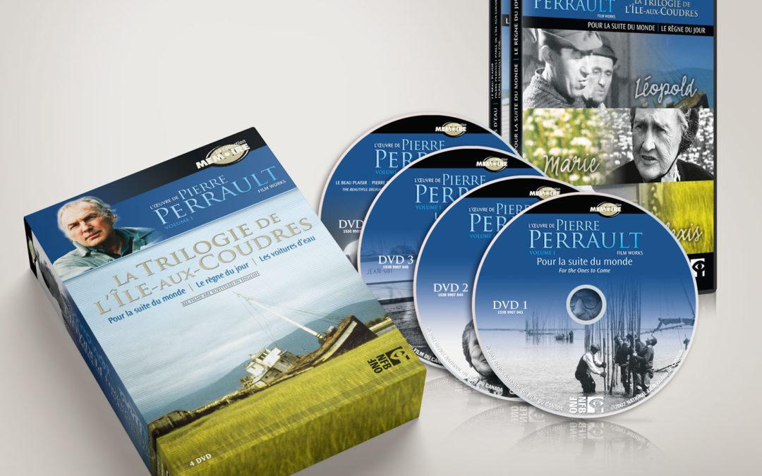 Coffret DVD Pierre Perreault